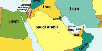 Cartina Asia Occidentale.Mappa Di Manama Bahrain Posizione Sulla Mappa Asia Occidentale Asia